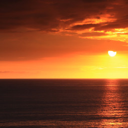 summer beach sunset light travel