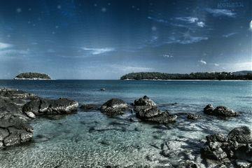 beach nature travel sea