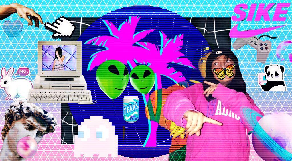 Vaporwave Aesthetic SadBoy 2001 - Image by mcftyt