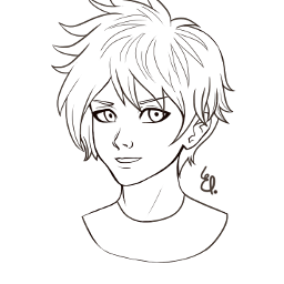 freetoedit draw drawing lineart mangaboy