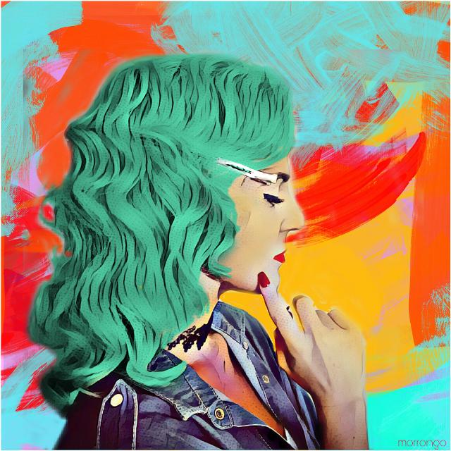 #FreeToEdit original photo @andreeamaria6  #myedit  #creative  #colors  #popart  #artistic