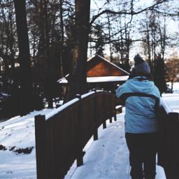 slovakia travel winter snow friend freetoedit
