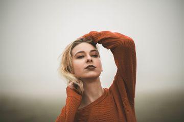 freetoedit human woman eyes posing