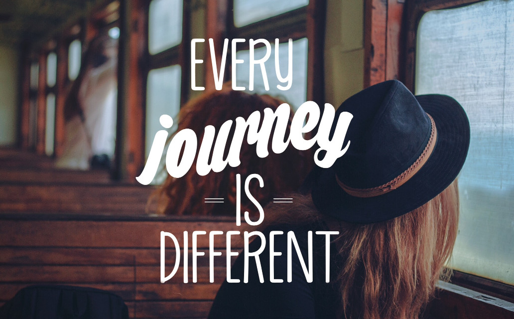Every Journey is Different #textoverlay #quote #journey #dodgereffect #edited #madewithpicsart #FreeToEdit
