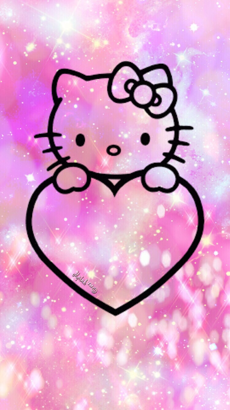 Wallpaper Hello Kitty Lock Screen