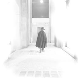 photography blackandwhite streetphotography onemanonly alone