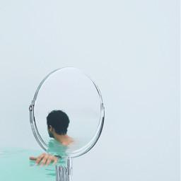 freetoedit ocean mirror swimming