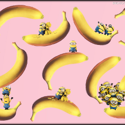 minions banana FreeToEdit remixed remix remixes remixedwithpicsart remixedbyme remixed_gallery remixedimage remixes