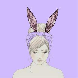 freetoedit bunnyearsremix