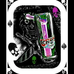 skull skullcandy skullhead artglass editedphoto
