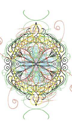 doodles mandala digitalmandala picsartcolorpaint picsart freetoedit