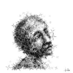 digitaldrawing digitalart blackandwhite people artwork