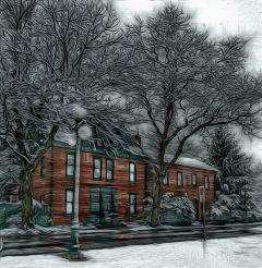 freetoedit snowy house