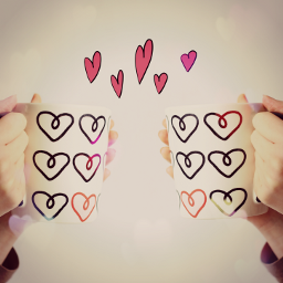 freetoedit cup hearts