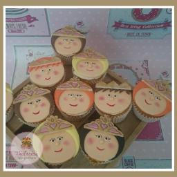 princessparty cupcakes tudanse princes victoriasspongehouse