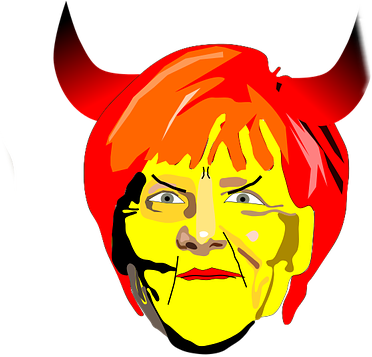 #FreeToEdit #ftestickers #face #merkel