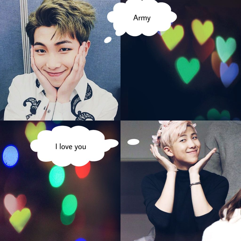 namjoon rapmon bts imagines army FreeToEdit love cute