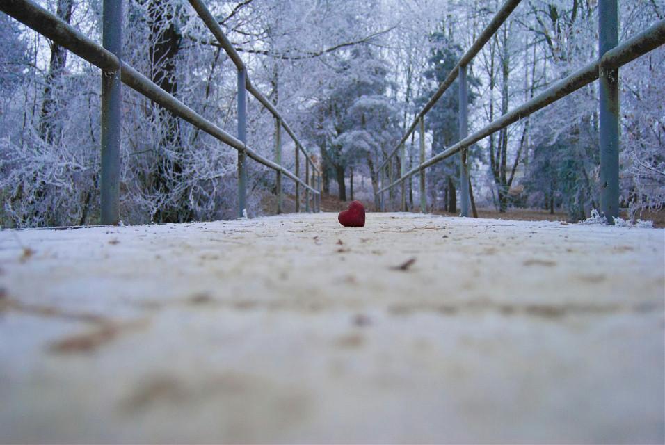 Winter 2017 Happy New Year heart  #winterwonderland #heart