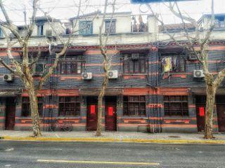 shanghai cityscape oldshanghai architecture street