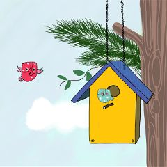 Draw,a,bird,house,,and,share,it,with,our,community!