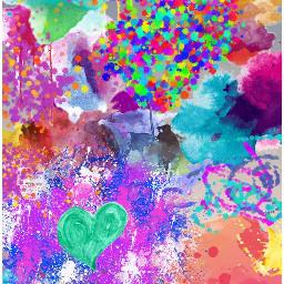freetoedit watercoloreffect magic colurful change