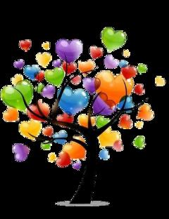 tree heart freetoedit