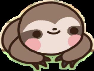 sloth kawaii freetoedit